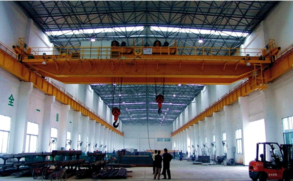 15t AQ-QE Double Trolley Crane