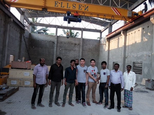 Customer Bought Crane From Ellsen