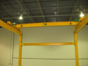 Ellsen 1 ton Travelling Overhad Crane for Sale