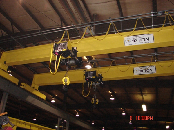 Ellsen 10 Ton Single Girder Overhead Crane