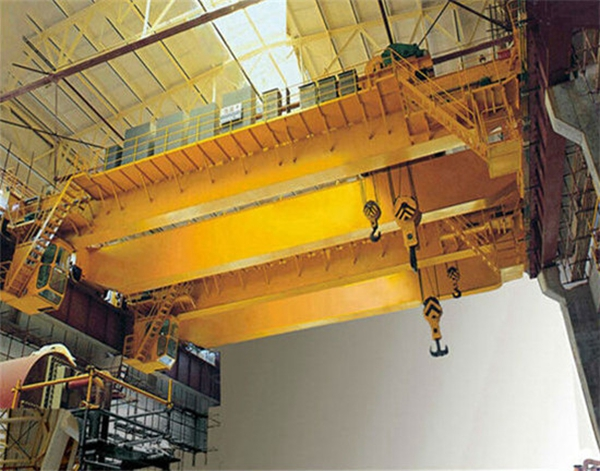 20t AQ-QD Dual Hook Bridge Crane
