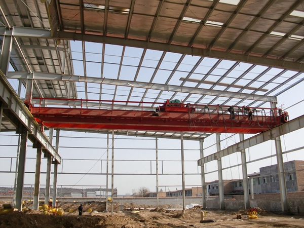 Electric Girder Bridge Crane For Sale