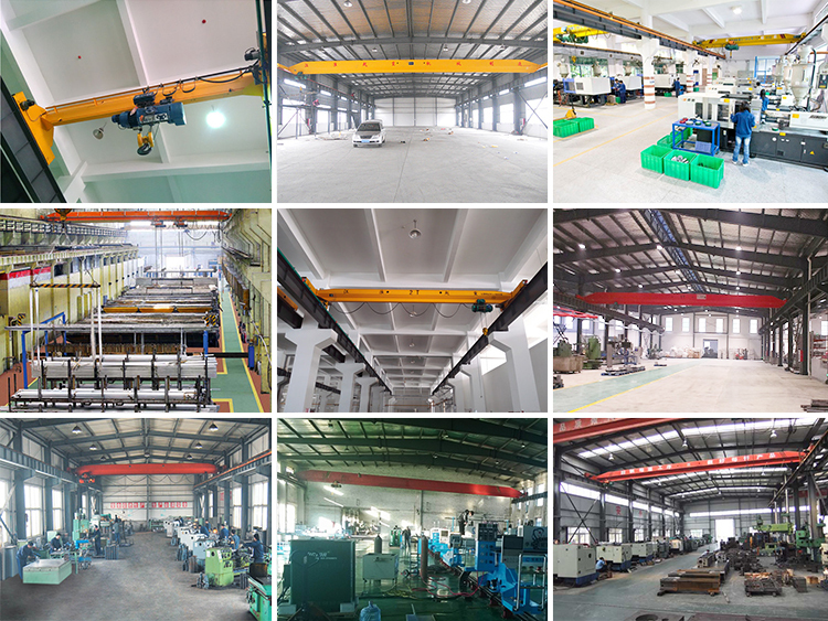 Portable Overhead Crane With Easy Use Simple System Factory
