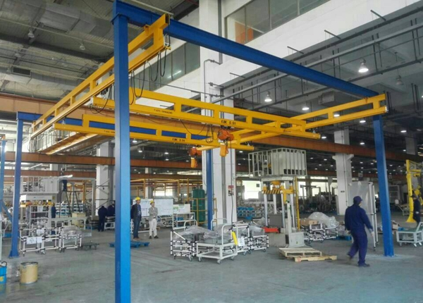 Free Standing Bridge Crane Manufacturer Provides Mobile