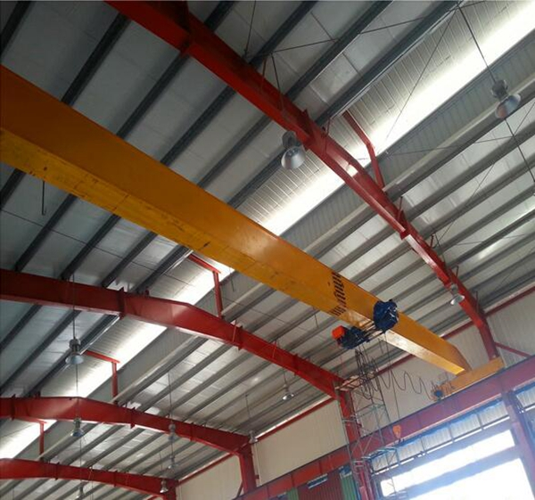 AQ-LDP Partial Hung Single Girder Crane For Sale