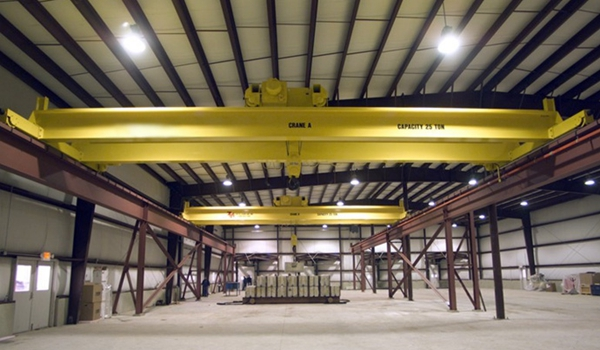 AQ-LH 15t Double Girder Travelling Crane For Sale