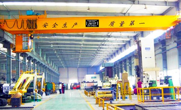 LH Double Girder Travelling Crane