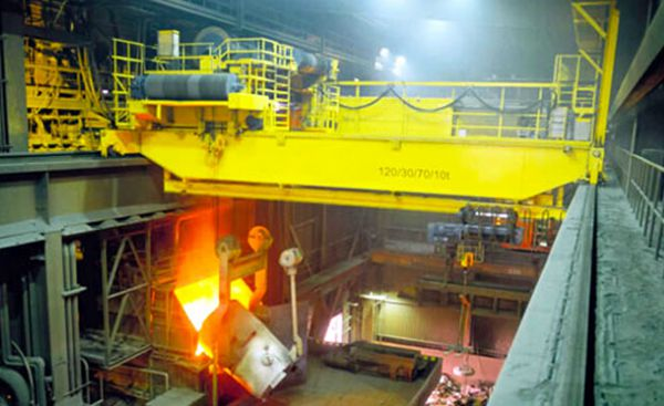YZ Foundry Industrial Heavy Duty Crane