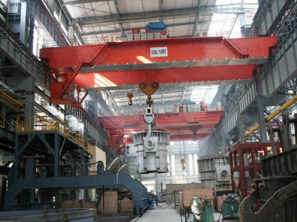 100 Ton Overhead Crane For Sale