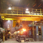Bridge Foundry Crane With Hook