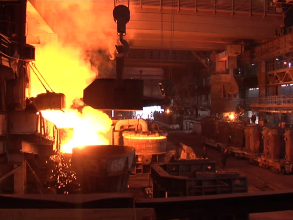 Bridge Foundry Crane With Hook For Factory Use