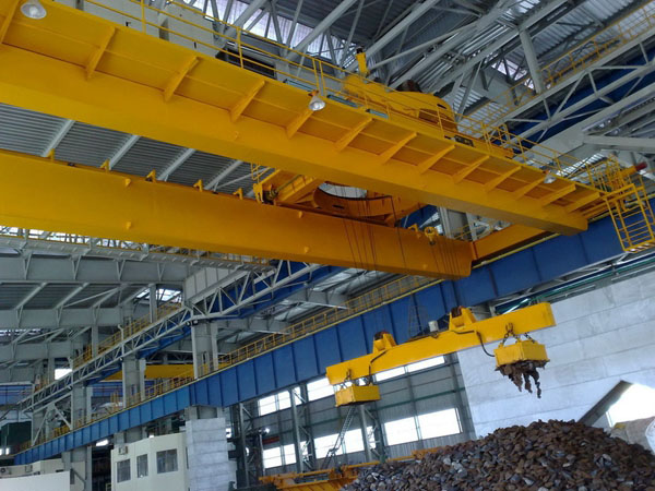 Overhead Crane And Rigging Training Edmonton : Electromagnetic overhead crane perfect for iron steel