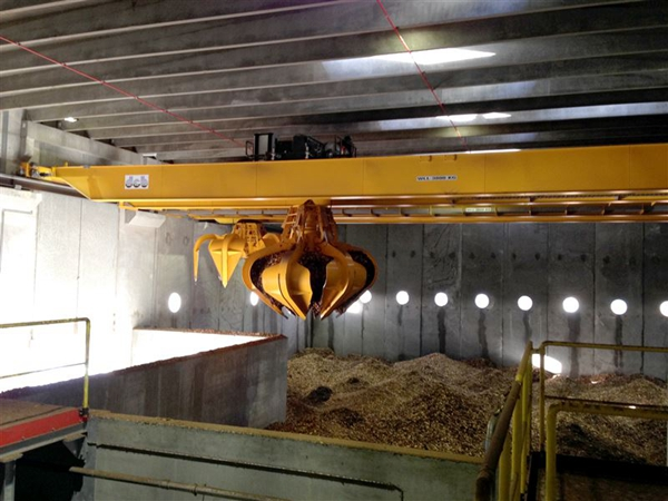 Grab Overhead Crane For Sale
