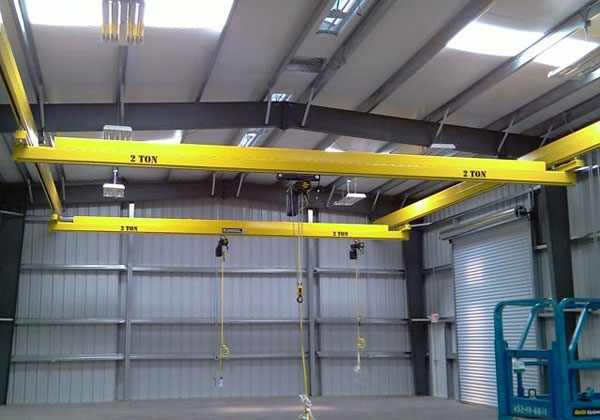 Underhung Garage Overhead Cranes For Sale