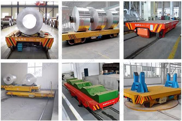 Electric Flat Transfer Car For Sale