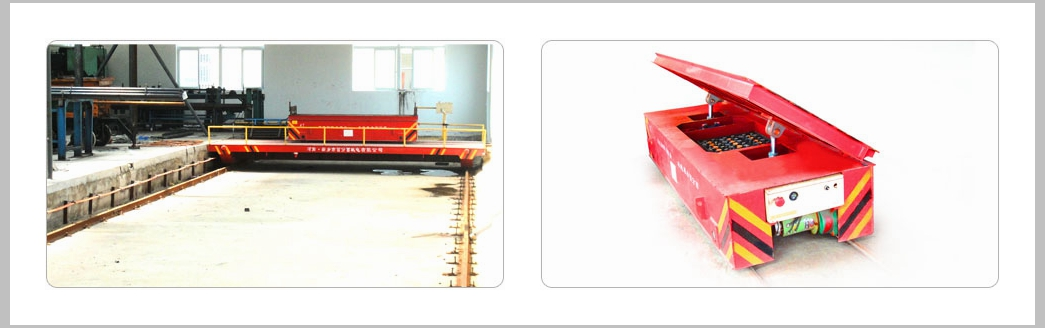 Motorized Rail Ferry Car Transfer Trolley