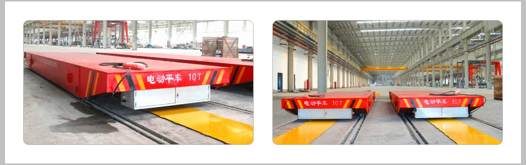 Busbar Powered Rail Trailer