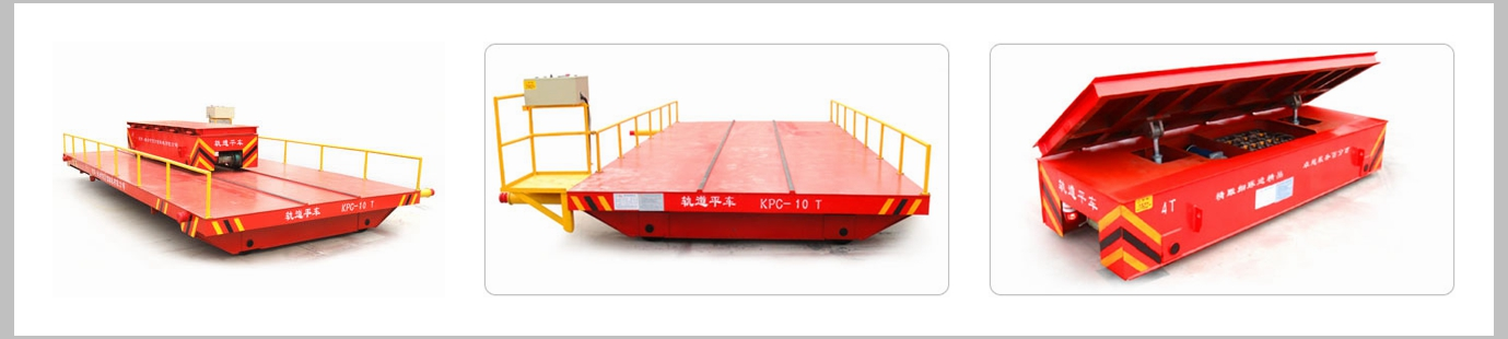 Hydraulic Dumping System Transfer Cart For Sale