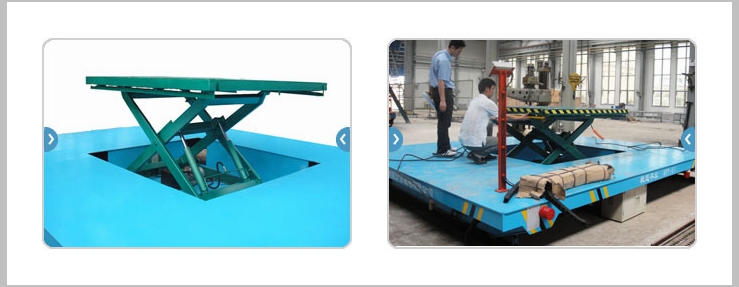 Rail Material Handling Solution With Hydraulic System