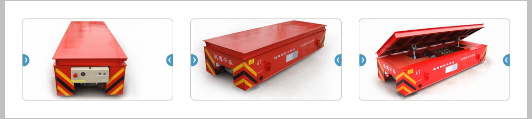 Steel Pipe Transfer Rail Trailer