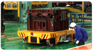 Transfer Track Trolley For Production Line
