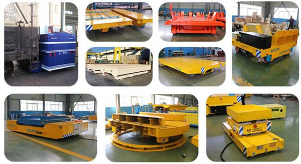 Wide Application Of Electric Flat Transfer Cart