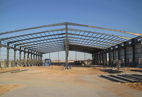 Crane Type Steel Structure Warehouse