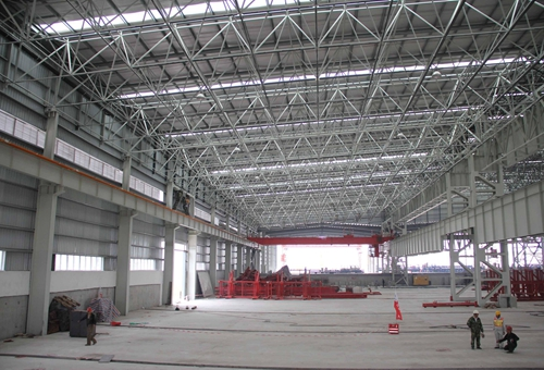 Custom Steel Structures Industrial Steel Structures