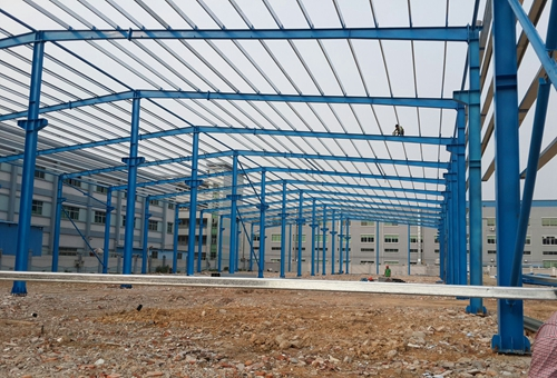 Qualified Industrial Steel Structures