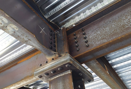Steel Structure Foundation Strong Structural Steel