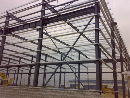 Steel Structure Warehouse Industrial Steel Structures