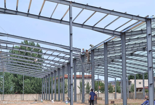 Steel Structure Workshop Strong Structural Steel