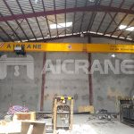 HD Type European Single Girder Overhead Crane